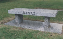 Banas Granite Bench