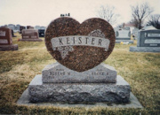 Keister Companion Monument
