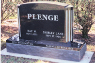 Plenge Companion Monument